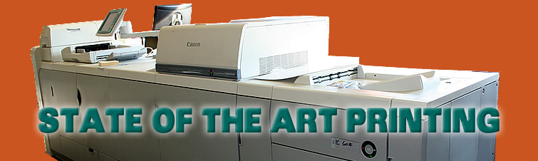 State of the art printing