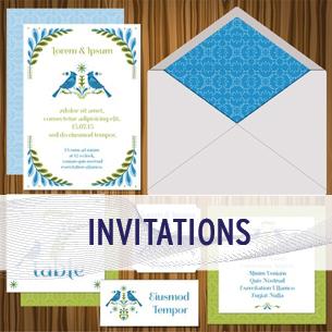 marketing services - invitations