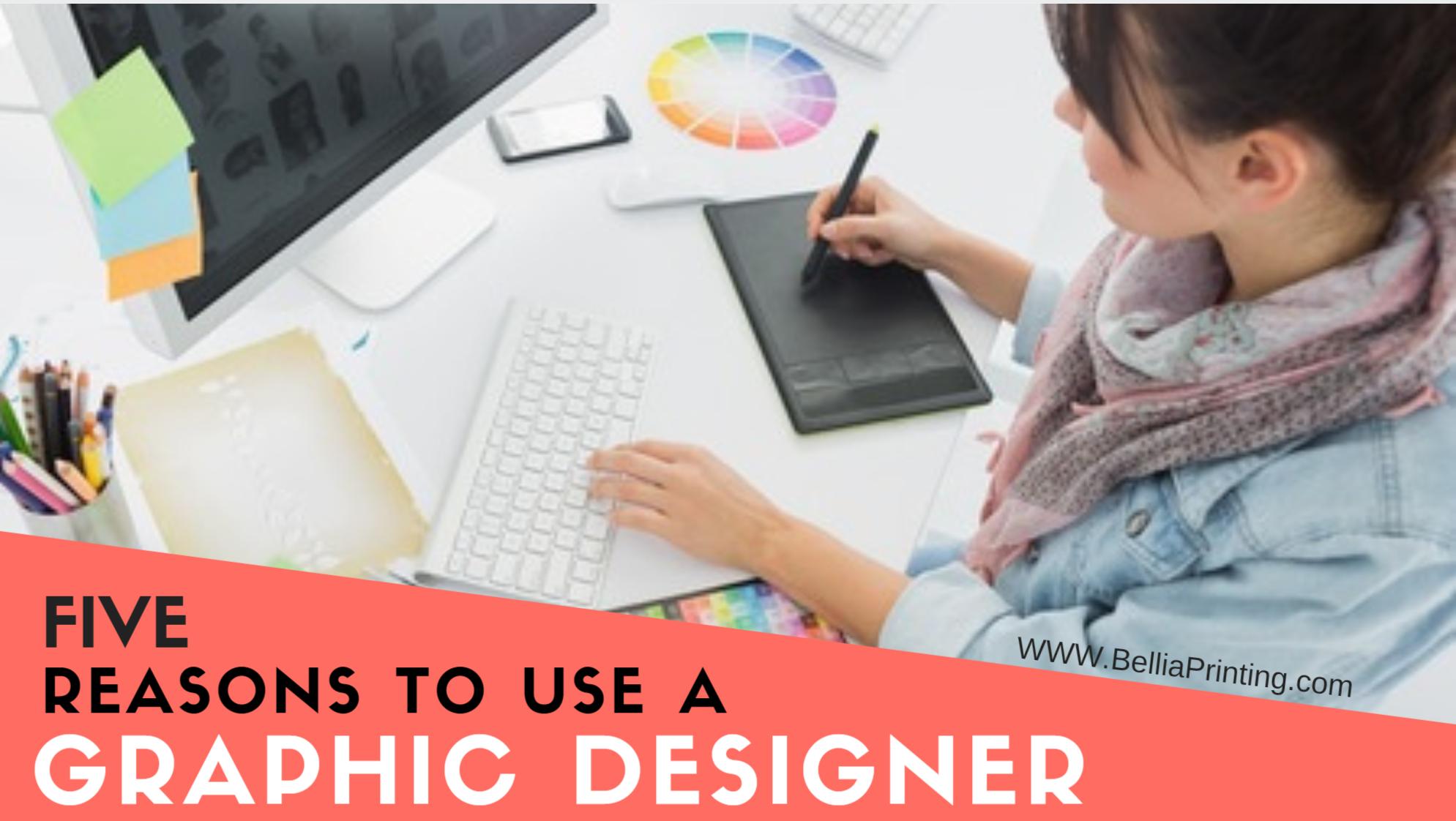 use a graphic designer