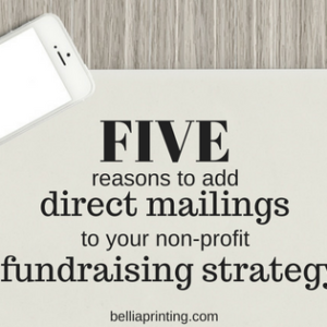 5 reasons to add direct mailings to your non-profit fundraising strategy