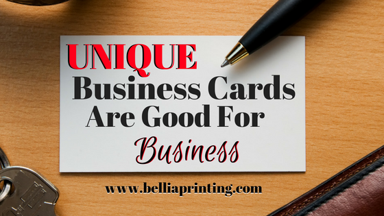 lets explore why unique business cards are good for business business cards should be a staple of every companys marketing materials - Unique Business Cards