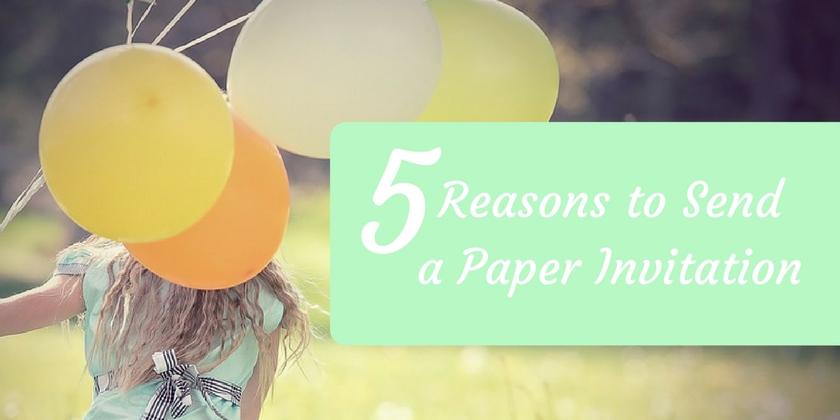 Paper Invitations